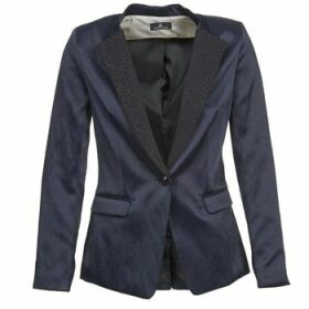 One Step  VOICE  women's Jacket in Blue