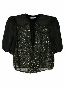 Nk Antares Mabel star sequinned blouse - Black