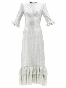 Ace & Jig - Marisol Ruched-neck Cotton Top - Womens - Ivory