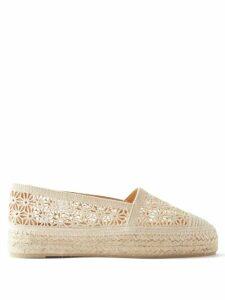 Christian Louboutin - Spetsos Raoul Print Satin Sandals - Womens - Multi