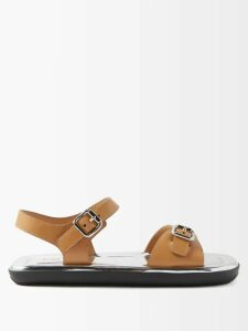 Miu Miu - Block-colour Cropped Cashmere Sweater - Womens - Red