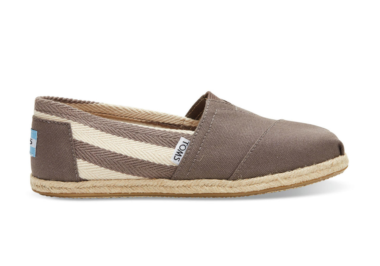 Dark Grey Stripe University Women's Classics