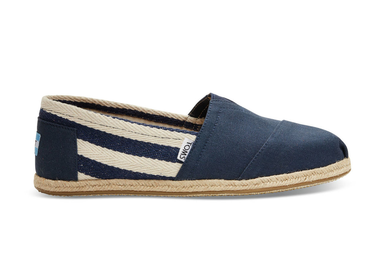 Navy Stripe University Women's Classics