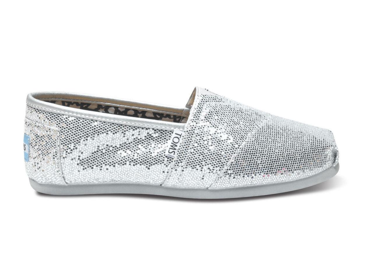 Silver Glitter Women's Classics