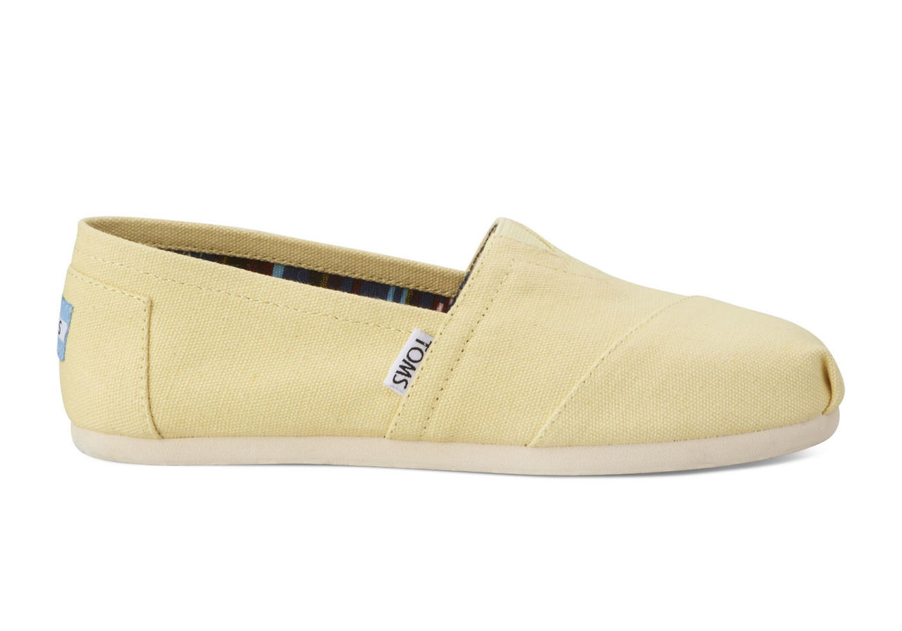 Yellow Women's Canvas Classics
