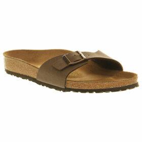 Birkenstock Madrid faux-leather sandals, Women's, Size: 4, Mocha nubuck