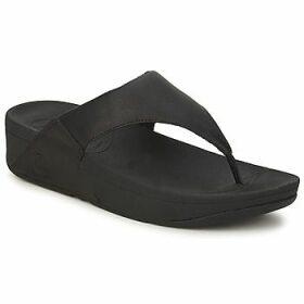FitFlop  LULU LEATHER™  women's Flip flops / Sandals (Shoes) in Black