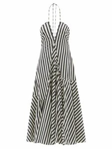 Dodo Bar Or - Batia Floral-print Cotton-poplin Maxi-skirt - Womens - Burgundy Print