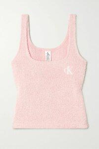 MICHAEL Michael Kors - Pleated Floral-print Crepon Top - Black