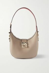 Marchesa Notte - Embellished Fil Coupé Tulle Gown - Blue