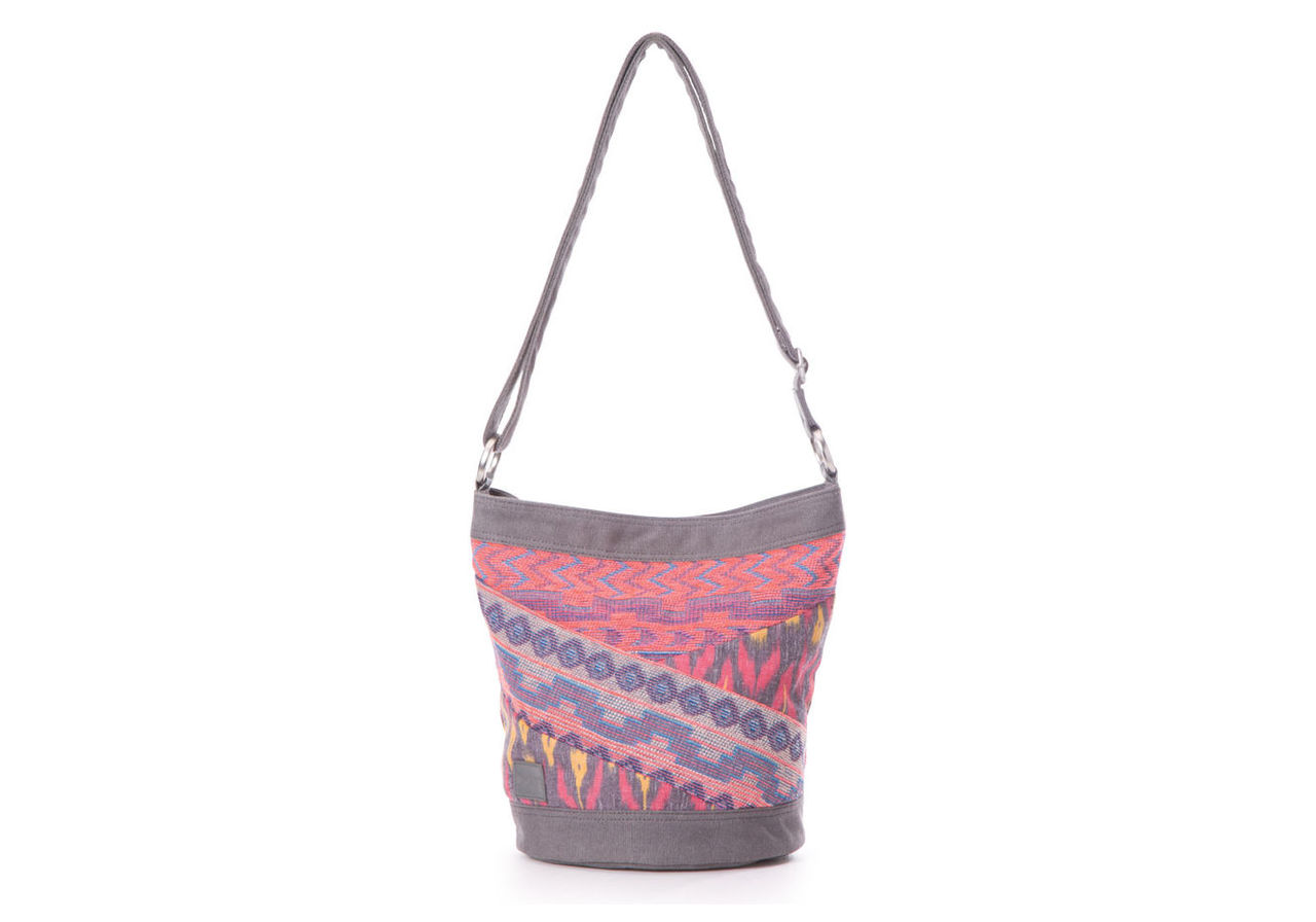 Magenta Ikat Mix Terrace Bucket