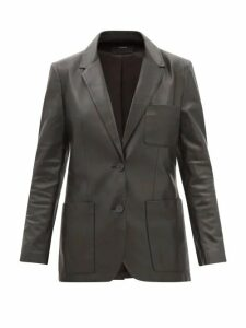 See By Chloé - Ruffled-collar Georgette Blouse - Womens - Black