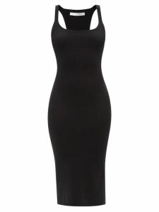 See By Chloé - Sleeve-embroidered Cotton Top - Womens - Black