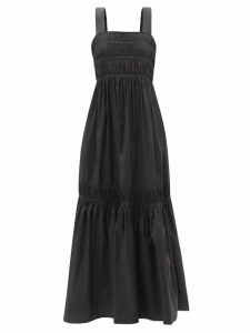 Ganni - Crystal-embellished Striped Cashmere Sweater - Womens - Multi