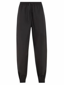 Alexander Mcqueen - Box 21 Crocodile Effect Leather Cross Body Bag - Womens - Black