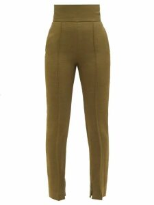 Le Sirenuse, Positano - Annalisa Embroidered Cotton-poplin Kaftan - Womens - White