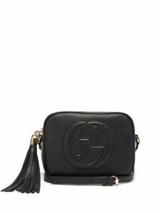 Gucci - Soho Gg Small Leather Cross Body Bag - Womens - Black