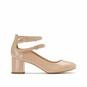 Double Strap Patent Mary Janes