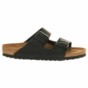 Birkenstock Arizona leather sandals, Women's, Size: 4, Black