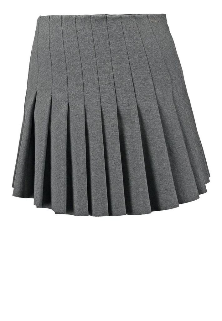 Pepe Jeans LEITH Pleated skirt grey marl