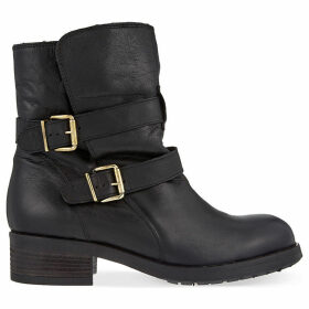 Richmond leather ankle boots