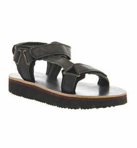 Hudson London Calypso Sandal BLACK LEATHER