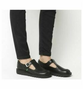 Kickers Kick Lo Aztec BLACK LEATHER