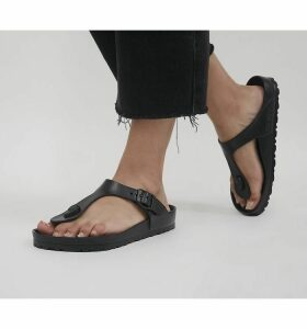 Birkenstock Toe Thong Footbed BLACK EVA