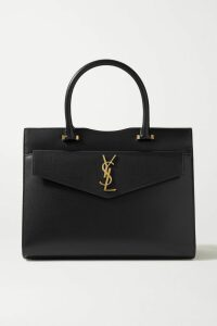 Marco De Vincenzo - Pvc-trimmed Crystal-embellished Leather Ankle Boots - Metallic