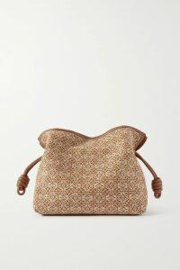 Balenciaga - Printed Ribbed-knit Top - Green