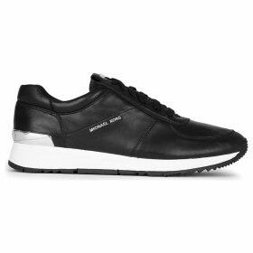 Michael Michael Kors Allie leather trainers, Women's, Size: EUR 38 / 5 UK, Black