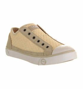 UGG Laela Woven Sneaker CREAM DENIM