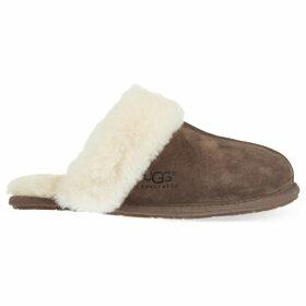 Ugg Scuffette II slippers, Women's, Size: EUR 41 / 8 UK, Dark brown