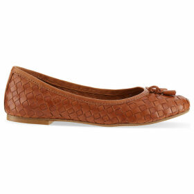 Carvela Luggage woven ballet flats, Women's, Size: EUR 40 / 7 UK, Tan