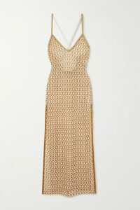Nicholas - Ruched Leopard-print Silk-chiffon Wrap Top - Brown