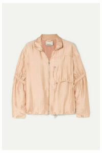 3.1 Phillip Lim - Ruched Gauze Jacket - Blush