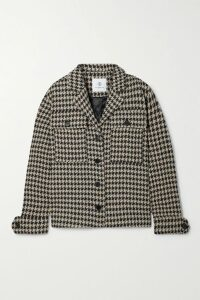 Matthew Adams Dolan - Cropped Cable-knit Mohair-blend Turtleneck Sweater - Red