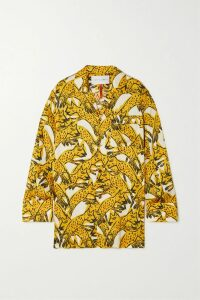 Prada - Stretch-jacquard Jacket - Navy
