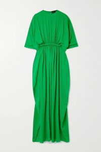 Three Graces London - Angelique Ramie Blouse - Saffron