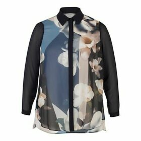 Chesca Printed Shirt, Blue
