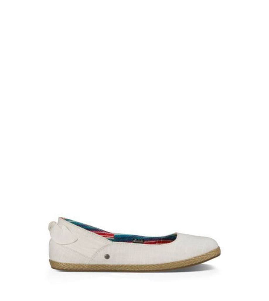 UGG Perrie Womens Shoes White Wall 9
