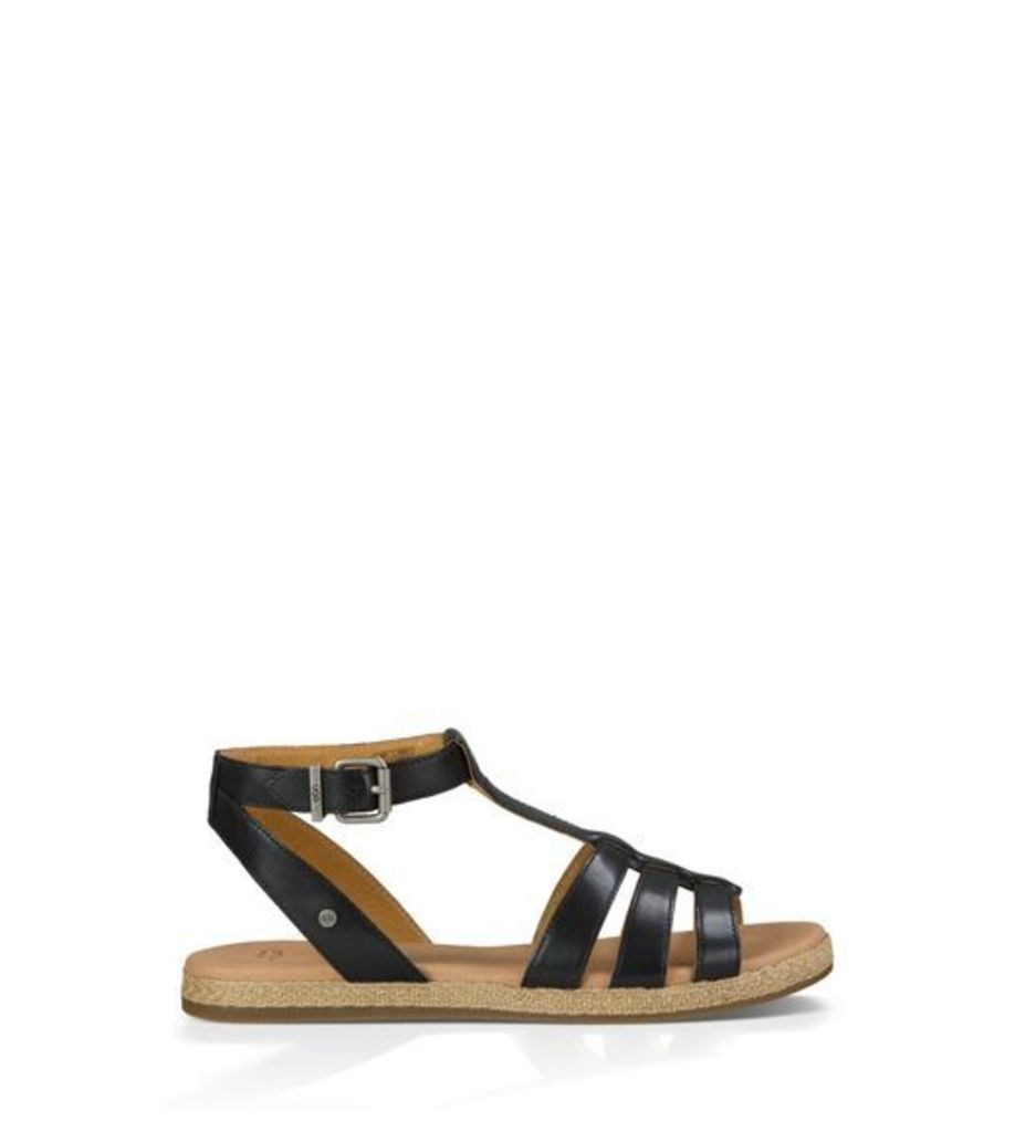 UGG Lanette Womens Sandals Black 6