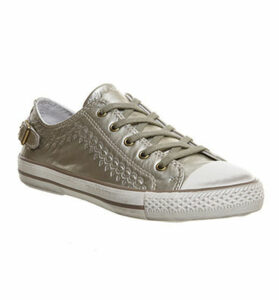 Ash Virgo Lo Sneaker GOLD IRON