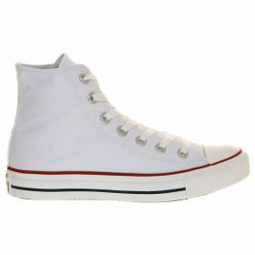 Converse All Star canvas high-tops, Mens, Size: 02/01/1900, Optical white