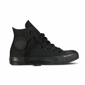 Chuck Taylor All Star Mono Canvas High Top Trainers
