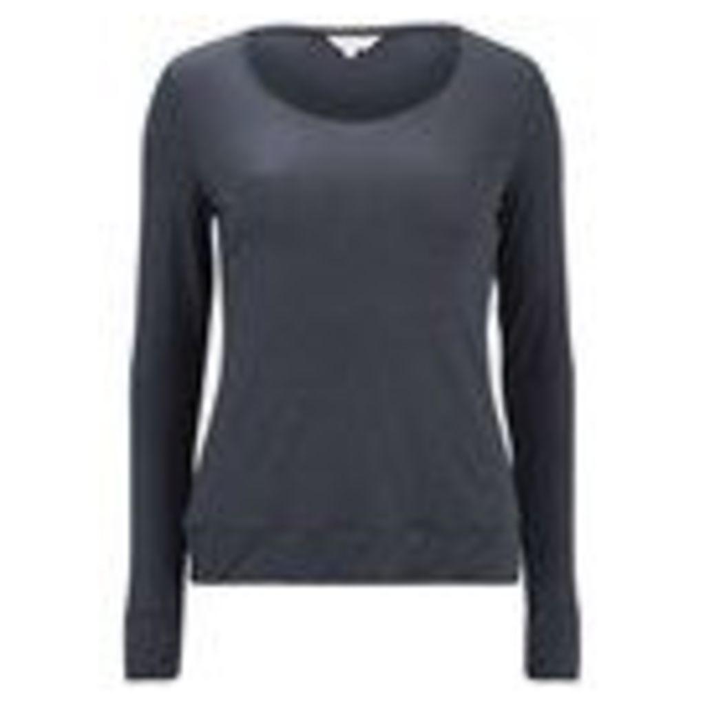 Derek Rose Women's Carla 1 Ladies Long Sleeve T-Shirt - Charcoal - L