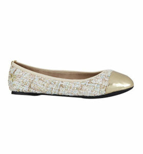 Butterfly Twists Verity Pump NUDE BOUCLE