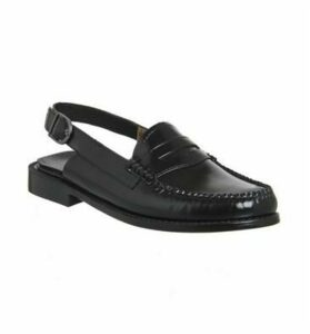 G.H Bass & Co Bass Weejun Penny Strap BLACK LEATHER