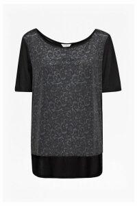 Katie Lace Print T-Shirt