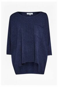 Naomi Cashmere Pocket Detail Jumper